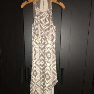 BCBG Cocktail Long Asymmetrical Dress